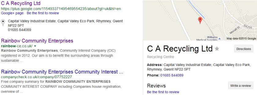 C A Google