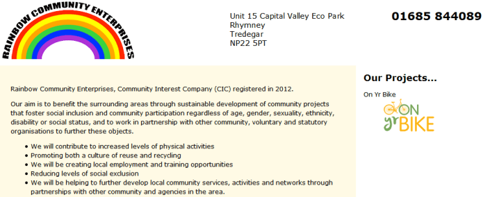 Rainbow Community Enterprises