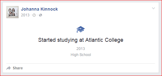 Johanna Kinnock Atlantic College
