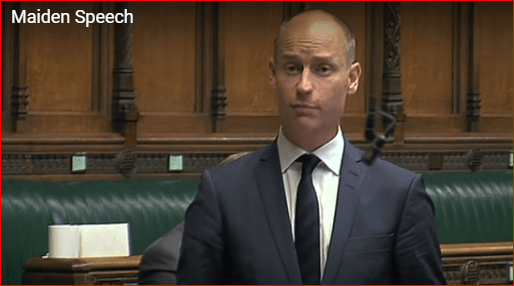 Kinnock maiden speech