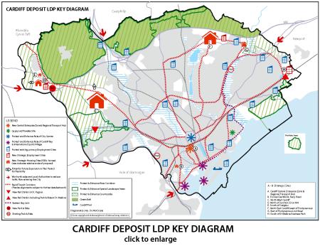 Cardiff LDP Map