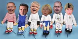Puppet show, no caption