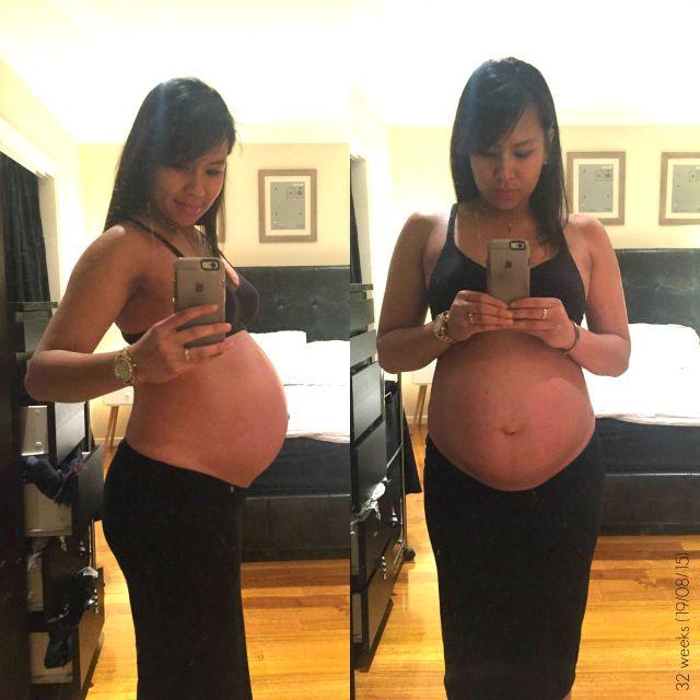 32 weeks pregnant The Urban Ma