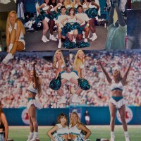 Miami Dolphin Cheerleader Scrap Book