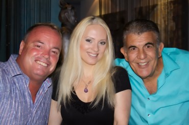 George, Jacqueline and Mike