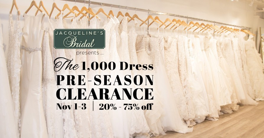 Wedding Dress Clearance