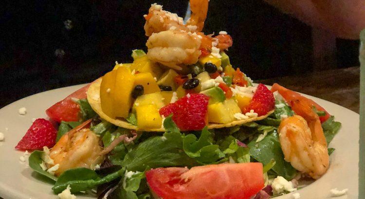 El Toro Mexican Restaurant Shrimp and Mango Salad
