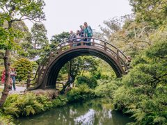 Japanese Tea Garden Bridge