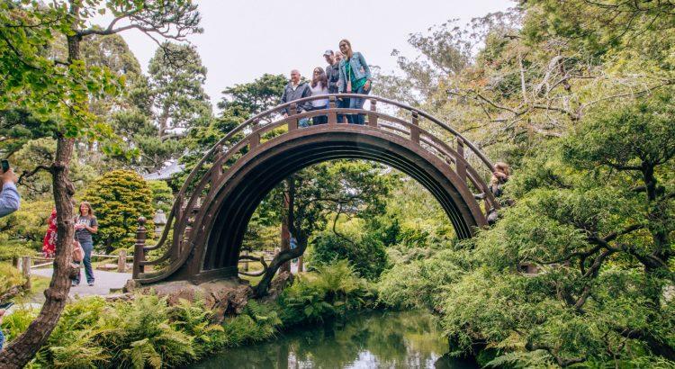 Japanese Tea Garden Bridge