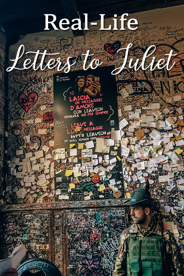 Real Life Letters to Juliet