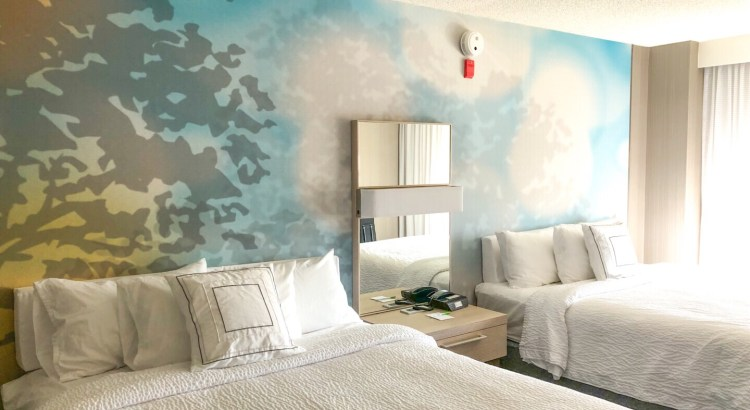 Denver Airport Hotel Room