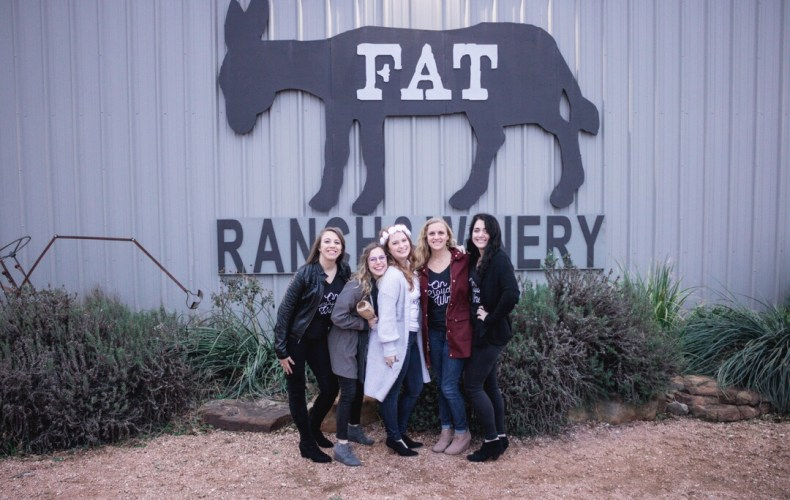 Another stop for your Fredericksburg wine tour, Fat Ass Ranch & Winery!