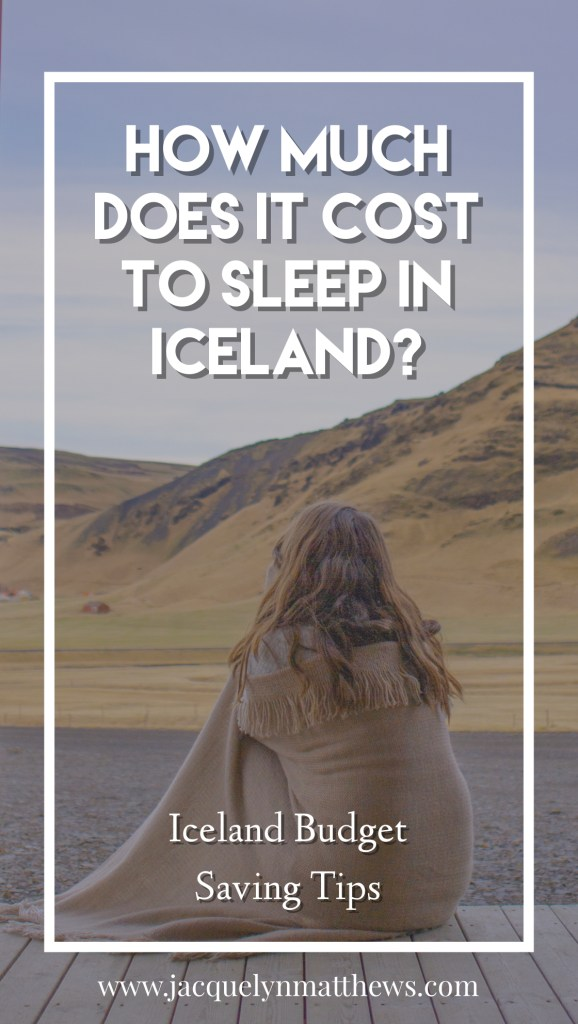 Wondering how much it costs to spend four nights in Iceland? Click here to see how much I spent!
