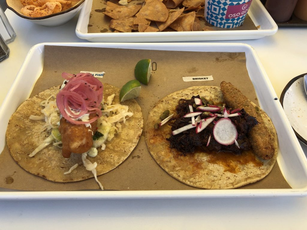 Tacos at OSO Paseo in Oklahoma City. Click here to see more things to do in OKC!