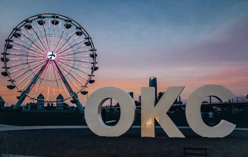 Oklahoma City Wheeler Ferris Wheel