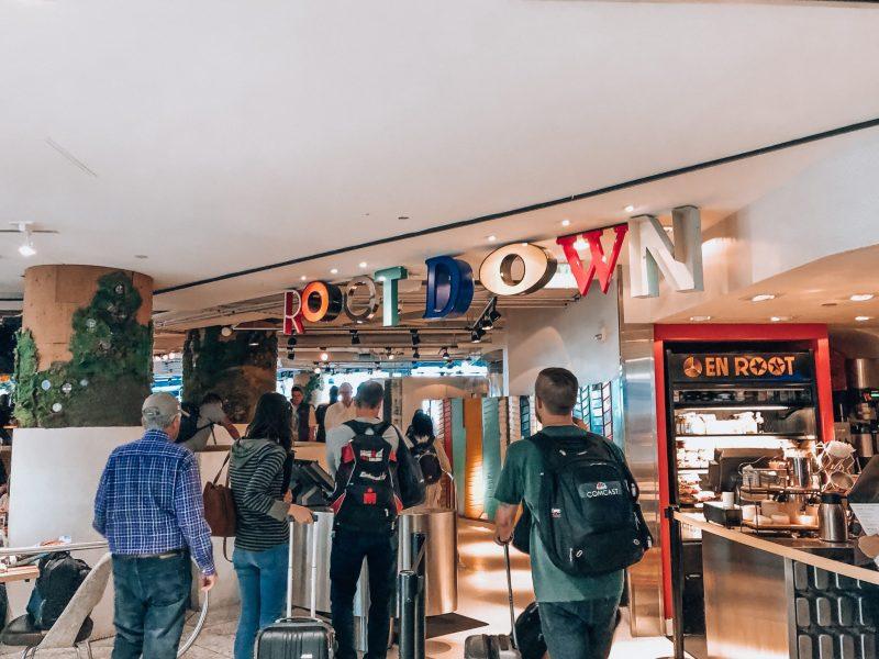 Root Down restaurant inside Denver International Airport