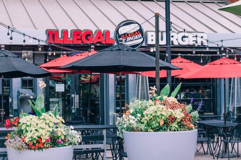 Illegal Burger in Denver, Colorado