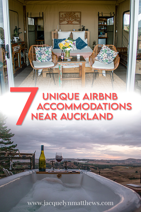 If you're looking for unique accommodations near Auckland, New Zealand, I've compiled a list of my favorites from five different websites.