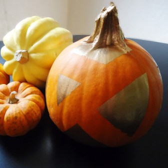Spray Painted Pumpkin Decor- Easy Fall Decorating Jacquelynne Steves