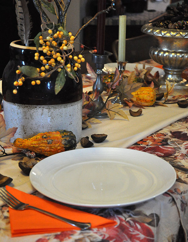 Thanksgiving table decorations- JacquelynneSteves