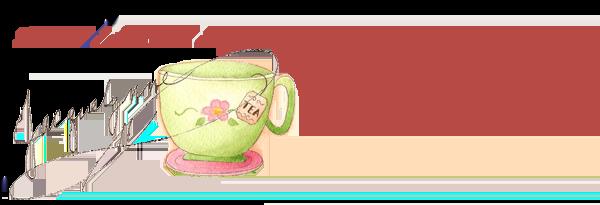 Delicious Day Tea Cup Art- Jacquelynne Steves