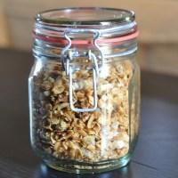 Homemade Granola Recipe Jacquelynne Steves