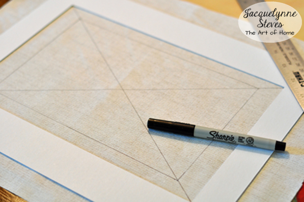 Fabric Covered Photo Mat Tutorial 1-JacquelynneSteves