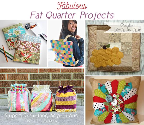Fat Quarter Project Ideas Jacquelynne Steves