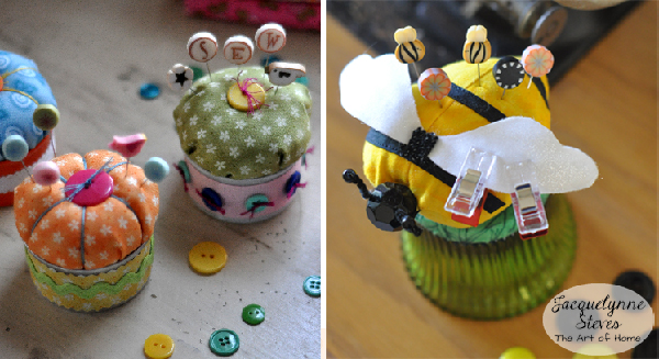 Decorative Pins- Pin Cushions- Jacquelynne Steves
