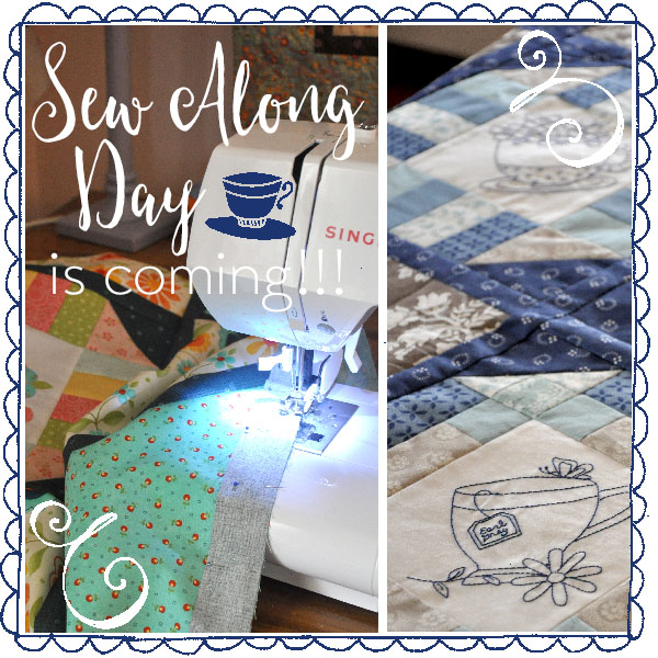 Sew Along Day is coming- Jacquelynne Steves