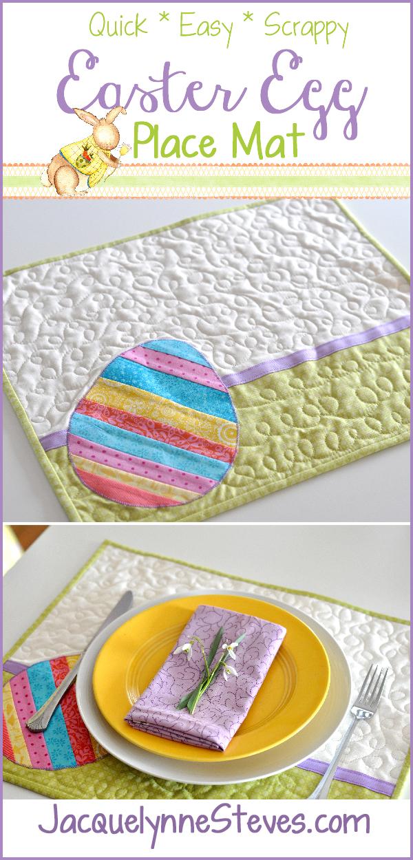Easter Egg Place Mat- Jacquelynne Steves_