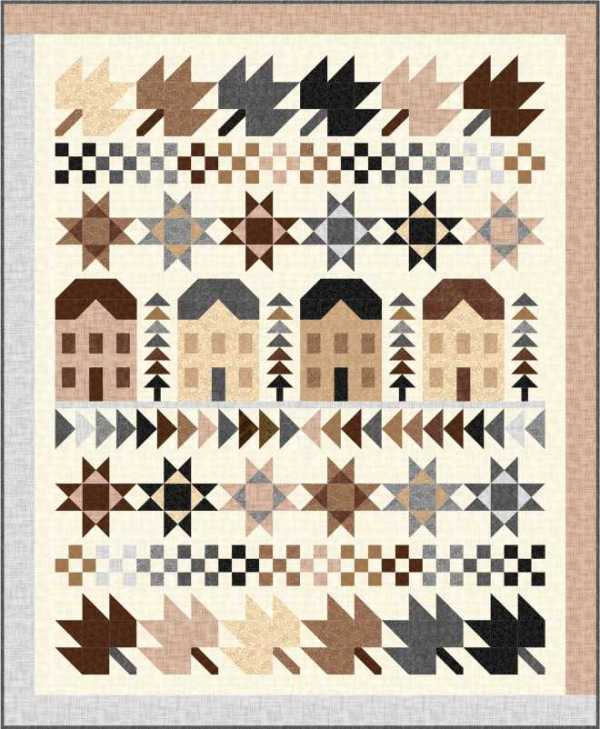 Free Fall Quilt Pattern
