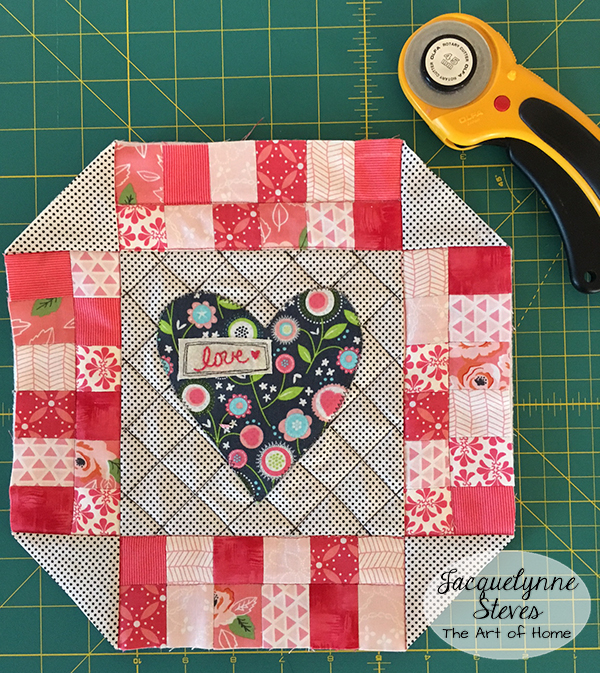 Valentines Day Mini Quilt Pattern Tutorial Jacquelynne Steves