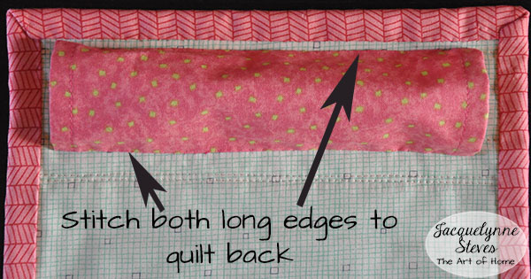 How To Make A Hanging Sleeve For A Quilt