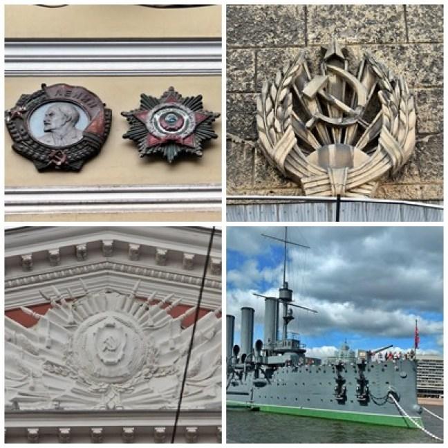 St Petersbourg vestiges soviétiques