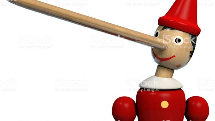 Insignifiance, mensonge et diversion. Pinocchio