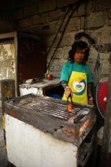 Votre chicken dans la rue pour pas cher / Chicken cooking style in the street