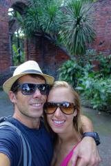 Nous deux au Fort Santiago / Us at the Santiago Fort