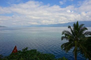 View onto Lac Toba
