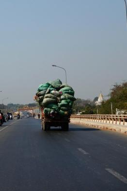 Full loaded truck