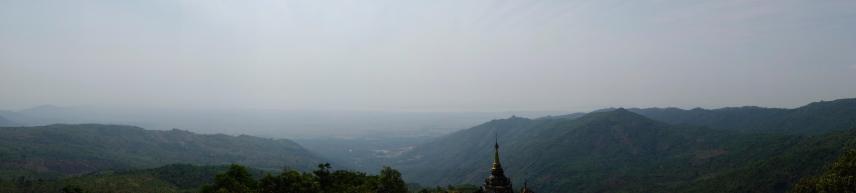 View from the Nwa-la-bo-Pagoda