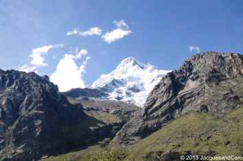 VIew of the sunmit of the Huascaran