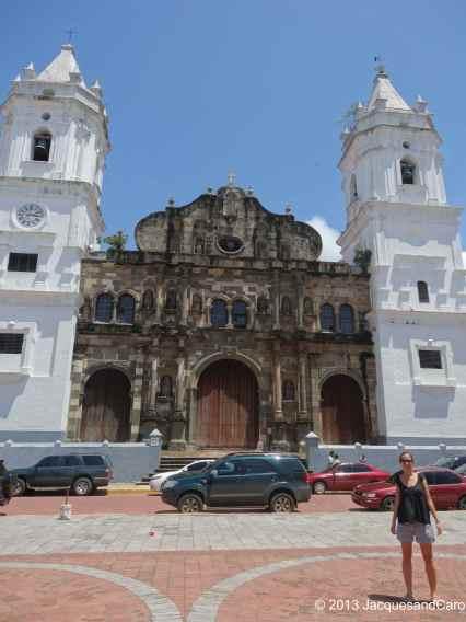 Casco Viejo church