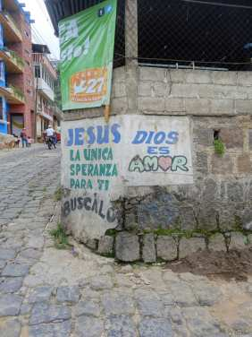 Again, Jesus la unica speranza, the only hope for you