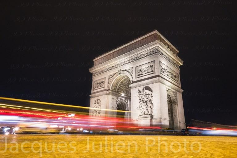 place de l'étoile Champs-Élysées photo