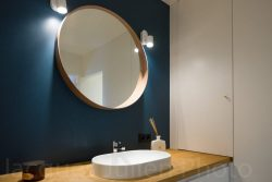 interior bathroom with glass photography