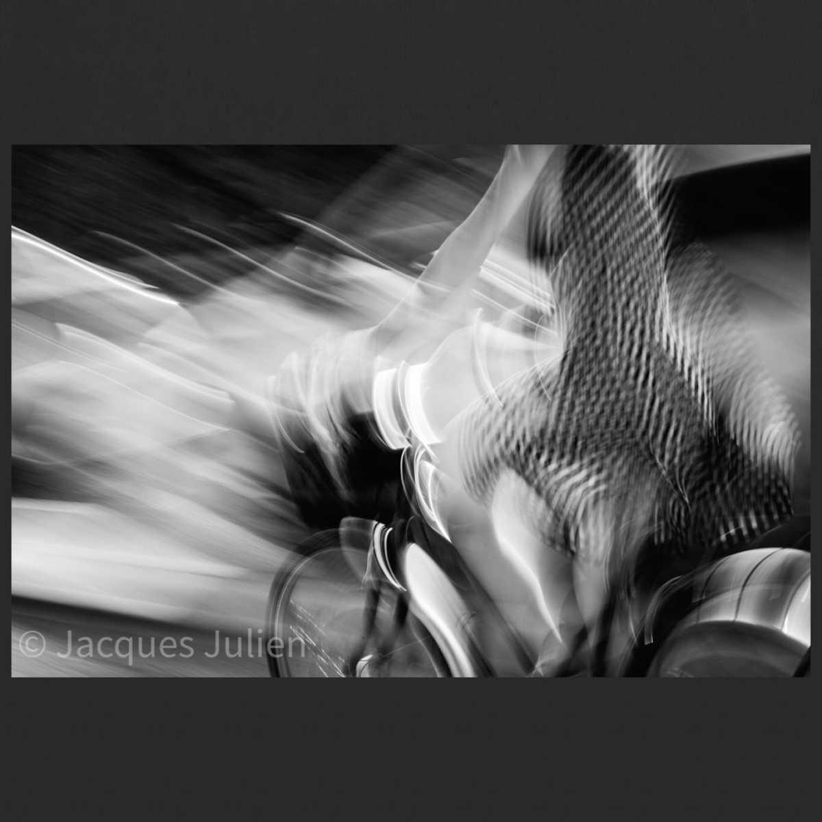 photographie surréaliste en noir et blanc