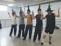 Rehearsal Bottle Dance