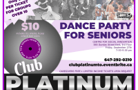 Poster Layout – Club Platinum