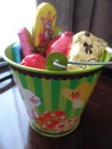Bucket of treats